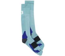 Socken mit abstraktem Muster