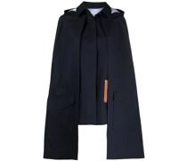 Mantel mit abnehmbarem Cape
