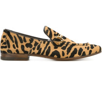 Loafer mit Animal-Print