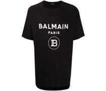 Oversized-T-Shirt mit Logo