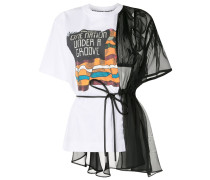 T-Shirt im Deconstructed-Look
