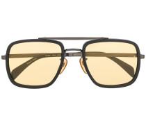 Eckige Sonnenbrille im Oversized-Look