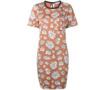 graphic floral T-shirt dress - women