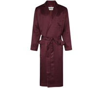 Home piped-trim robe