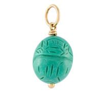 'Scarab' turquoise pendant