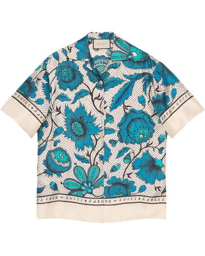 Hemd mit Blumen