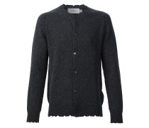 Cardigan in Distressed-Optik