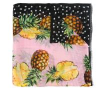 Seidenschal mit Ananas-Print