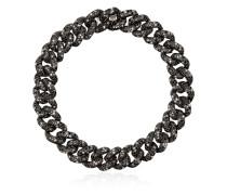 18kt Schwarzgoldarmband mit Diamanten