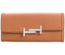 Portemonnaie mit 'Double T'-Schnalle