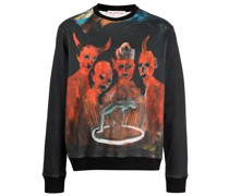 x Pablo Iglesias Prada Sweatshirt
