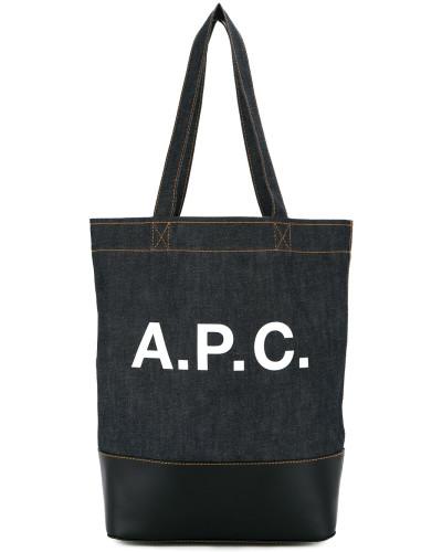A.P.C. Herren A.P.C. Shopper mit Logo