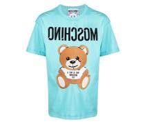 T-Shirt mit aufgesticktem Teddy