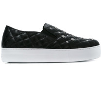 Gesteppte Slip-On-Sneakers - women