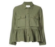 flutter army jacket