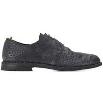 Derby-Schuhe mit Webmuster