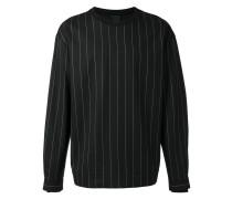 Sweatshirt mit Nadelstreifenmuster - men