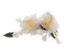 Brosche mit Blumendesign
