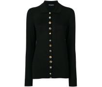 embellished buttoned cardigan