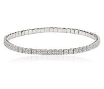 Elastisches Armband mit Diamanten