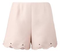 Rockstud scalloped shorts - women