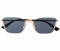 Sonnenbrille mit Metallic-Detail