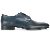 Derby-Schuhe aus glattem Leder