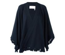 Cardigan mit Quasten - women - Baumwolle/Wolle