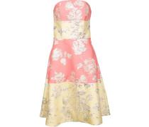 Schulterfreies Brokat-Kleid - women - Polyester
