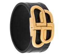 'BB' Armband mit Kroko-Effekt