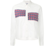 Hemd mit Tweed-Streifen