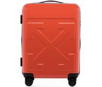 Koffer mit eingeprägtem Logo