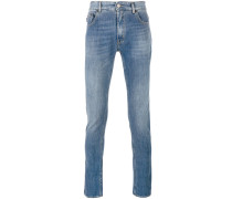 - Skinny-Jeans mit Patch - men