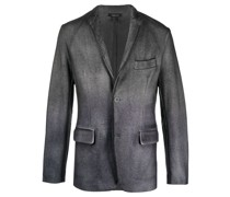 washed tailored blazer