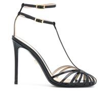 Stiletto-Sandalen mit Riemen