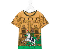 T-Shirt mit Pferde-Print