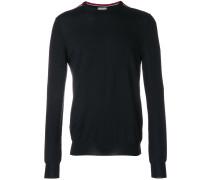 Sweatshirt mit gestreiften Schultern