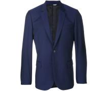 scalloped suit jacket