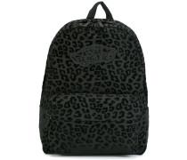 Rucksack mit Leopardenmuster