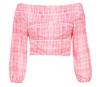 'Riva' Cropped-Top mit Print