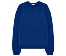 Oversized-Sweatshirt mit rundem Ausschnitt