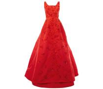 - flower embellished dress - women