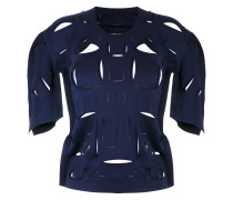 cut out details blouse