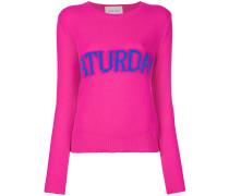 Saturday intarsia jumper