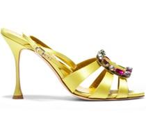 Sandalen mit Kristallen 105mm