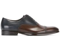 Oxford-Schuhe in Colour-Block-Optik