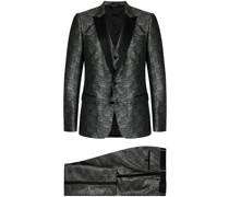 Metallic-Anzug
