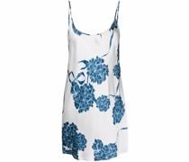 Florales Nachthemd aus Seide