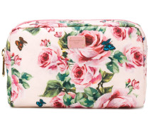 rose print make-up bag