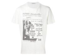 T-Shirt mit Rockkonzert-Print